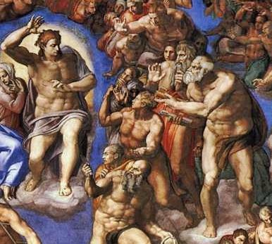 Michelangelo,_Giudizio_Universale_03