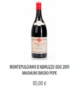Montepulciano d'Abruzzo; per il 'gambero rosso' il montepulciano d'abruzzo è un vino 'al massimo ribasso'... Vedete un pò voi..!