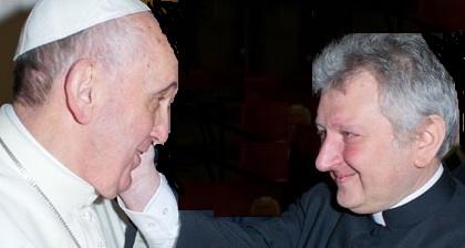 Monsignor Ricca; der Aufzug kupplerische der Nuntiatur in Uruguay