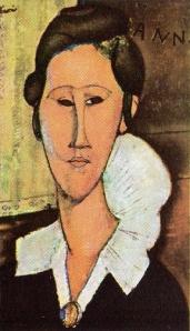 Amedeo Modigliani; i primi occhi ancora espressivi ma...non troppo