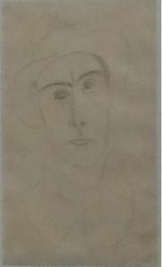 Andrè Derain;ritratto dell'amico Modigliani