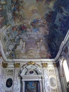 Chiesa di San Matteo,adiacente al Museo omonimo.Volta e parete retro altare.Pisa