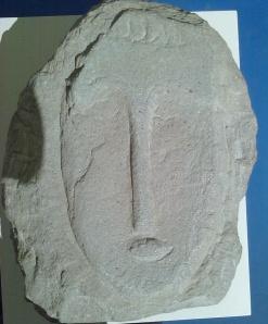 2° testa falso Modigliani ( fotografia da angolazione diversa )