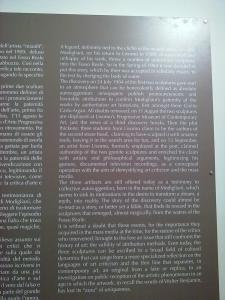 History of 'false Modigliani', in English.2