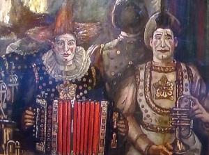 josé Gutiérrez Solana; Clowns.Palazzo Strozzi.Il van Gogh spagnolo
