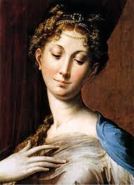 La Madonna dal 'collo lungo' di Raffaello Sanzio a cui Modigliani deve molto nella Sua ricerca di grazia/bellezza pittorica
