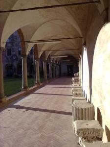 Museo di S.Matteo,Pisa.Peristilio del chiostro2