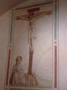 museo di san marco.Affresco di scuola del Beato Angelico 2.