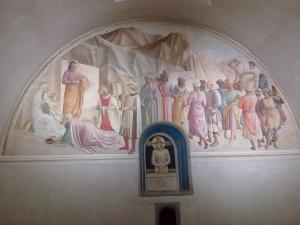 museo di san marco.Affresco di scuola del beato Angelico 3.