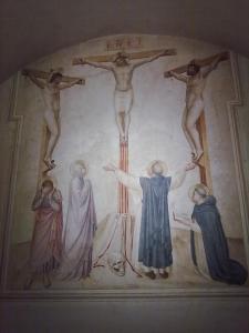 museo di san marco.affresco di scuola del beato Angelico 4.
