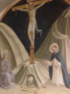 museo di san marco.affresco di scuola del Beato Angelico.