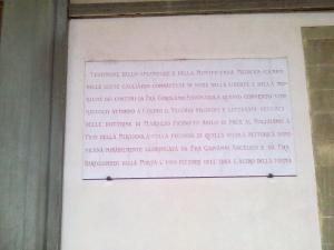 museo di san marco lapide