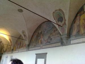 museo di san marco nicchia chiostro affresco2