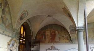 museo di san marco nicchia chiostro affresco3