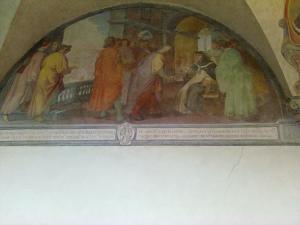 museo di san marco nicchia chistro affresco