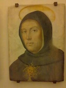 museo di san marco.San Tommaso d'Aquino,dipinto di Fra' Bartolomeo