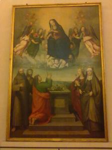 museo di san marco.tavola del ghirlandaio
