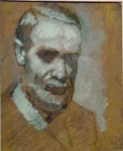 Oscar Ghiglia -autoritratto - . Un Maestro italiano di Modigliani