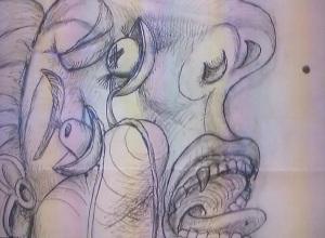 Pablo Picasso.post scriptum a Guernica.Cabeza de la mujer que llora.Palazzo Strozzi,2014-2015
