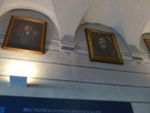 'Palazzo Blu' di Pisa,un angolo dell'androne2