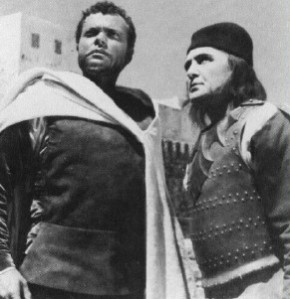 Mac liammoir,alias Iago,con orson welles alias othello