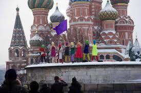 Pussy Riot sul Cremlino