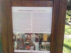 descrizione della 'ruota della preghiera'