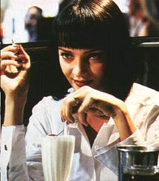 Uma THURMAN ne ; Mia in ' Pulp fiction