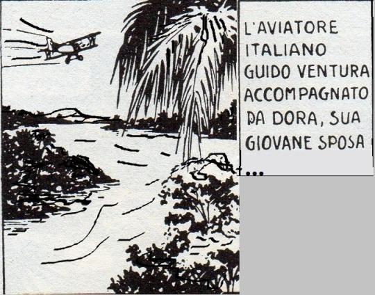 Clarence Gray attraverso il suo personaggio,Brick Bradford,alias Guido Ventura non disdegna di apprezzare la natura come vera maestra di vita...L'influenza di Burroughs è qui palese...