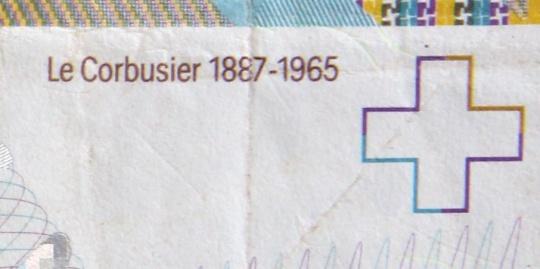 particolare della banconota svizzera da 10 franchi