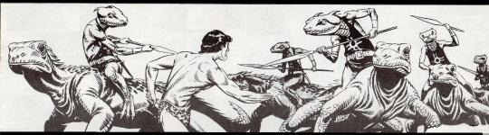 Tarzan ed i mostri che in realtà sono quelli del suo mondo di origine;quello civile!