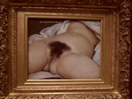 Gustave Courbet l' origine du monde Museo d'Orsay Paris