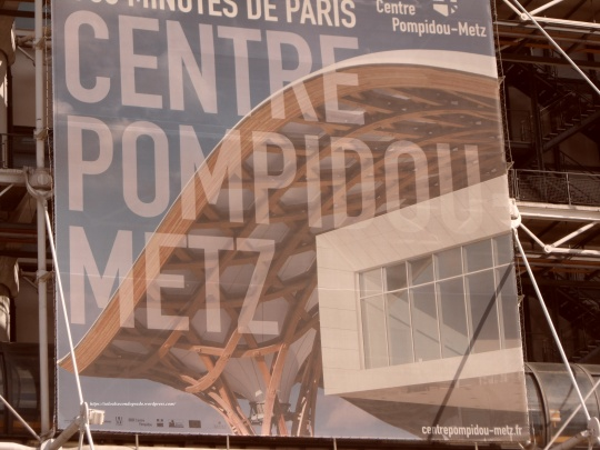 Le Beaubourg ou  Centre Pompidou 12