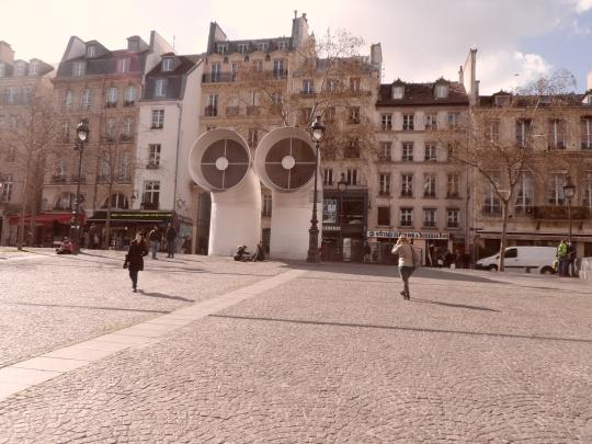 Le Beaubourg ou  Centre Pompidou 14