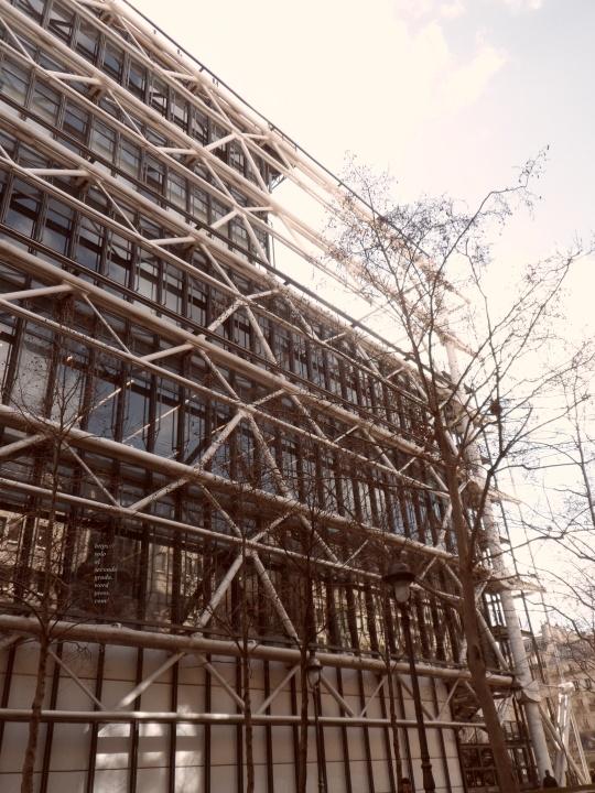 Le Beaubourg ou  Centre Pompidou 16