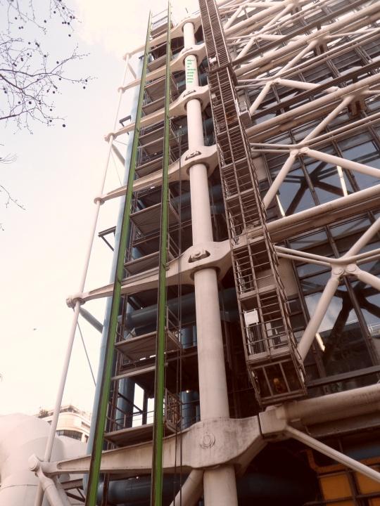 Le Beaubourg ou  Centre Pompidou 17