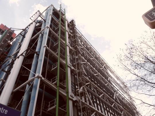 Le Beaubourg ou  Centre Pompidou 18
