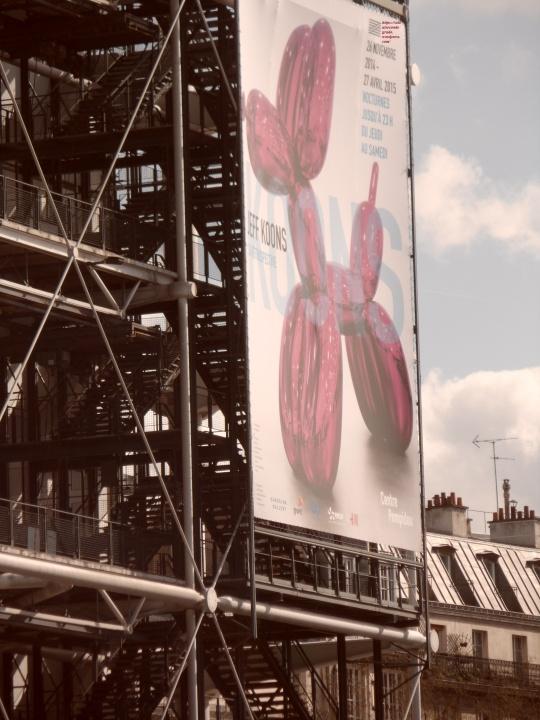 Le Beaubourg ou  Centre Pompidou 2
