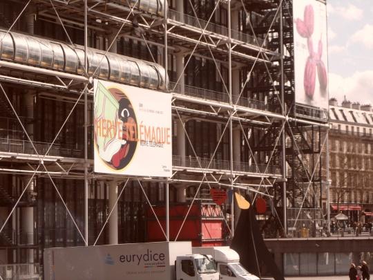 Le Beaubourg ou  Centre Pompidou 4