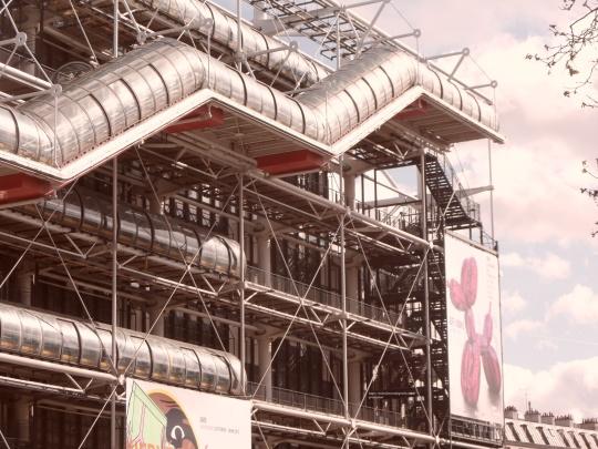 Le Beaubourg ou  Centre Pompidou 5