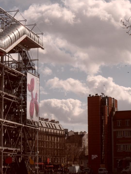 Le Beaubourg ou  Centre Pompidou 6