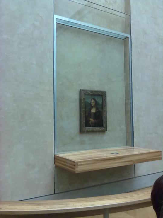 ' La Gioconda '  o ' la MonnaLisa ' di Leonardo da Vinci . Vale la pena di spenderci sopra due parole...