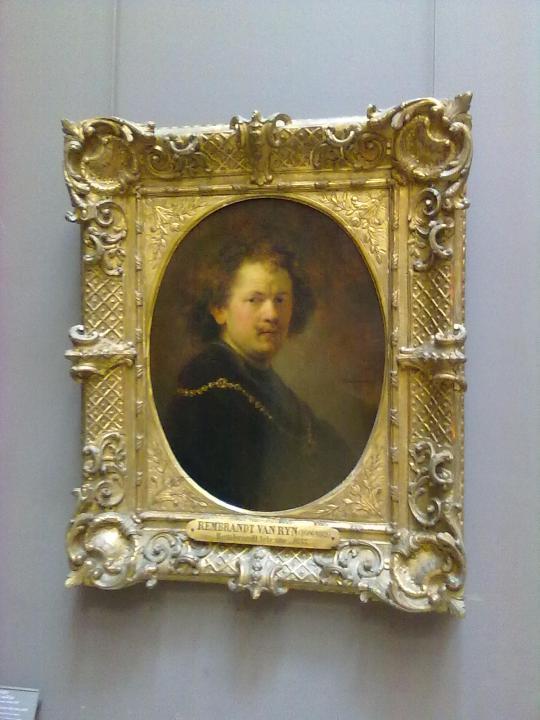 altro autoritratto di Rembrandt