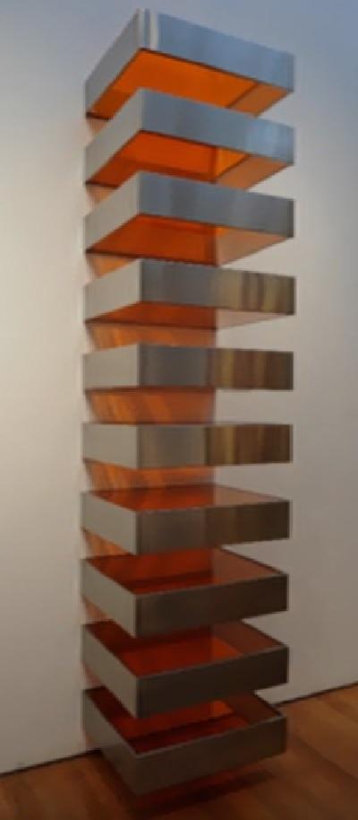 Donald Judd ; senza titolo-1968. Minimal art recepita da Saracino..?