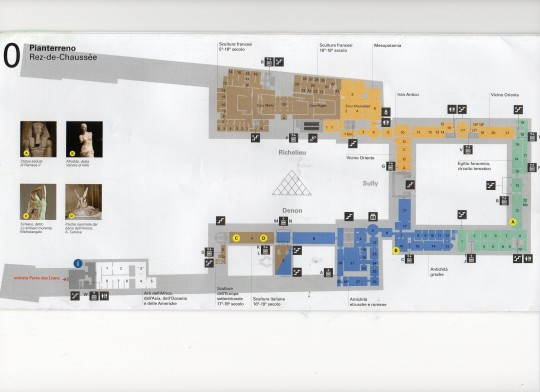 map of the Louvre museum 4