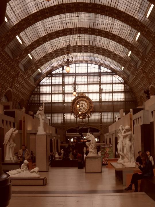 Museo d'Orsay sala piano terra