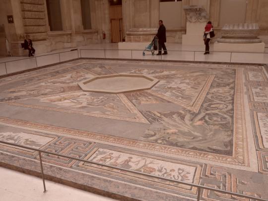 Straordinario mosaico romano
