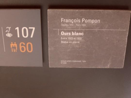 François  POMPON, ecco il cognome dello scultore francese! E' il caso di dire :' : ' c'est le pompon ! '