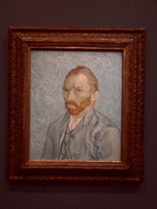 Un secondo autoritratto dell'artista V. Van Gogh