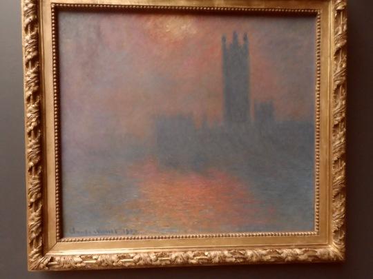 Claude Oscar Monet Un tramonto sul centro del potere inglese, ovvero sull'estrema propaggine occidentale dell'Occidente ; una macabra intuizione sul tramonto dell'Occidente  - Der Untergang des Abendlandes - di  Oswald Spengler ?